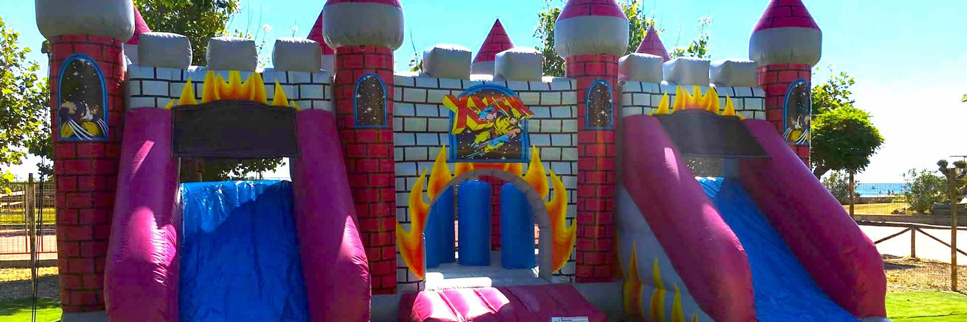 Il castello infuocato !